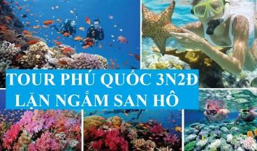 Tour  Sài Gòn - Phú Quốc 3 Ngày 2 Đêm ( Lặn Ngắm San Hô)