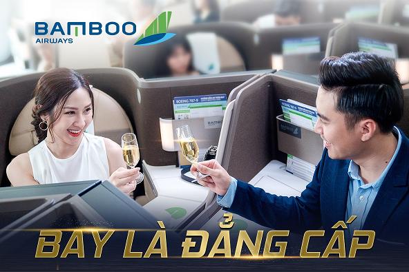 TRẢI NGHIỆM HẠNG THƯƠNG GIA CÙNG BAMBOO AIRWAYS