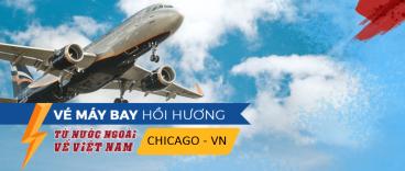 Chuyến bay từ Chicago về Việt Nam