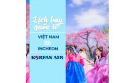 Đặt vé máy bay từ Việt Nam đi Incheon tháng 7/2021